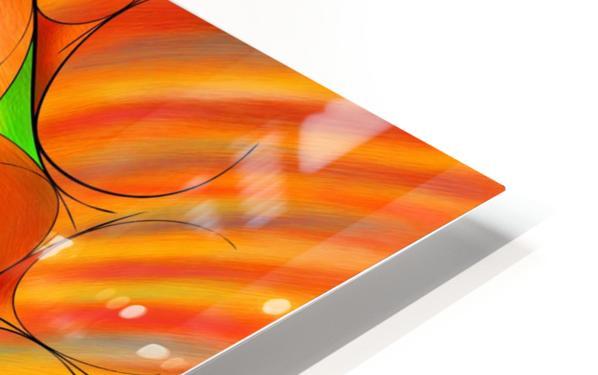 Alessinium - beauty curves HD Sublimation Metal print