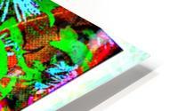 Green Flat-pic art HD Metal print