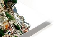 Positano Village in Amalfi Coast - Italy HD Metal print
