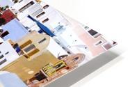 Colours of Santorini HD Metal print