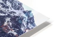 Mountains in the Lake HD Metal print
