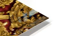 Golden wood carvings HD Metal print