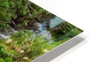 Beautiful Waterfall Picture in Alaska HD Metal print