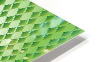 Islamic Art Green Color Artwork HD Metal print