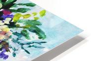 Impressionistic Flowers Burst Of Beauty HD Metal print