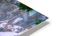 Semi frozen falls HD Metal print