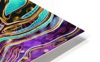 Pattern LXXVIII   II   Panoramic HD Metal print