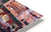 Town rendering HD Metal print