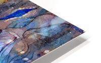 Blue Dimension HD Metal print