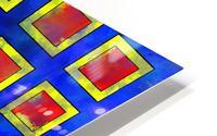 Verhomera - abstract cube worlds HD Metal print