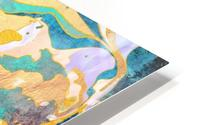 Dreamy Mountain - Illustration II HD Metal print