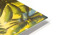 HAWAII TRAVEL POSTER HD Metal print