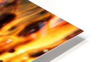 Fire Woman HD Metal print