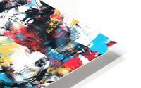 Abstract Flow II HD Metal print