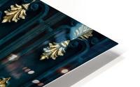 blue and brown yin yang illustration HD Metal print