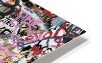 Graffiti Wall Background HD Metal print