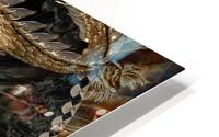 fantasy Dragon Pentagram HD Metal print