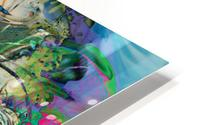 mottled multicolored abstract composition HD Metal print