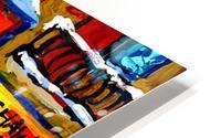 SCHWARTZ S DELI MONTREAL MONTREAL WINTER SCENE PAINTING  HD Metal print