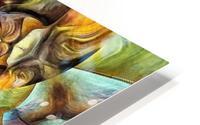 Abstract Fractal HD Metal print