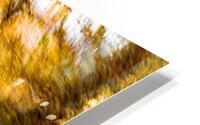 Foliage Blur HD Metal print