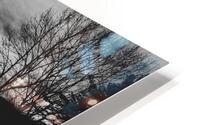 Empty Bench HD Metal print