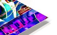 neon babe HD Metal print