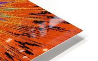 Abstract Sun 33 HD Metal print