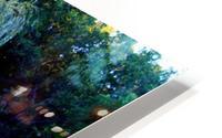 Reflections of a Monet Garden HD Metal print