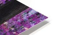 Purple Forest HD Metal print