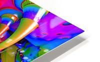 Dolphin Color Splash HD Metal print