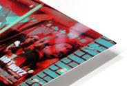 Atlanta Street Scene -- Turquoise HD Metal print