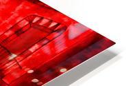Let Them Eat Cake  -- Red HD Metal print