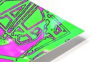 Talis HD Metal print