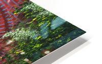 Path of Light HD Metal print