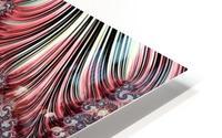 Fractal Art-Silk Brocade HD Metal print