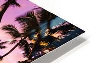 Footprints in the Sand HD Metal print