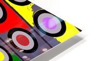 Circle Crazy by dePace HD Metal print