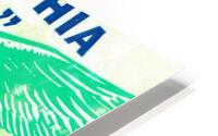 1960 Philadelphia Eagles Football Ticket HD Metal print