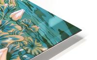 Pink lotus HD Metal print