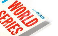1967 World Series Program Cover Art Fenway Park HD Metal print