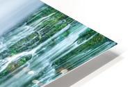 The Flowing Wall HD Metal print