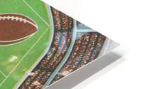 1984 NCAA Football Ad Reproduction_Vintage Sports Ads_Retro Sports Advertisement HD Metal print