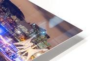 High angle in the slide HD Metal print