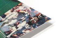 Texas Longhorns Football Poster_Texas Longhorn College Football Photo Collage HD Metal print