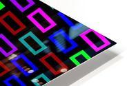 colourfulbrickspatterncolour HD Metal print