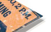 ticket stub metal sign osu buckeyes football vintage tickets wood prints HD Metal print