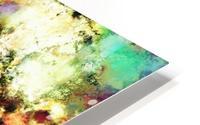 A distorted impact HD Metal print