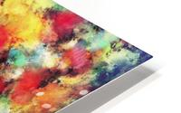 Big colour storm HD Metal print