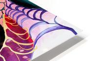 Artdeco Abstract Linear Interlacing Pattern HD Metal print